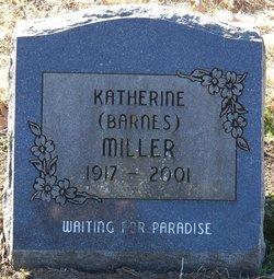 Katherine <I>Barnes</I> Miller