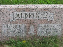 Sgt Ernest L. Albright