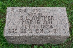Rebecca Margret <I>Walters</I> Whitmer