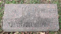 Ruth Anna Brookey McCann (1887-1957) - Find A Grave Memorial