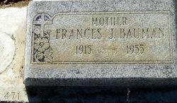 Frances J. Bauman