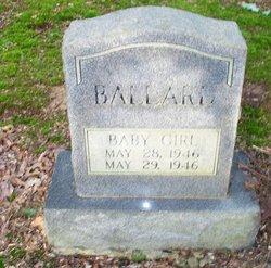 Baby Girl Ballard