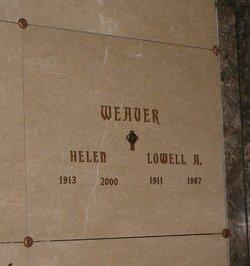 Helen <I>DuBois</I> Weaver