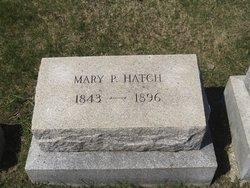 Mary Philbrooks <I>Delano</I> Hatch