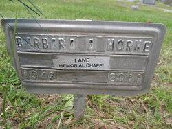 Barbara A Horne