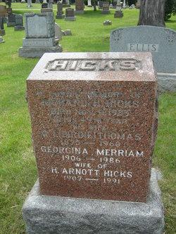 Georgina <I>Merriam</I> Hicks
