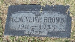 Geneveive Perle <I>Cronkite</I> Brown