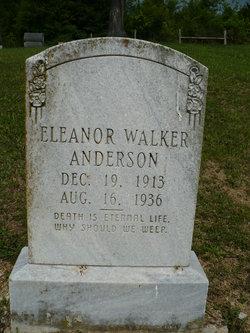 Eleanor Shields <I>Walker</I> Anderson