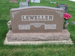 Bertha Ethel <I>Oliver</I> Lewellen