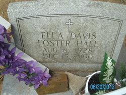 Ella <I>Davis</I> Hall