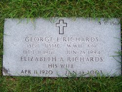 George E Richards