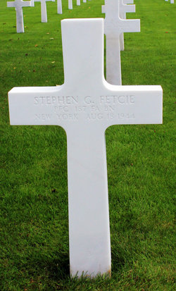 PFC Stephen G Fetcie