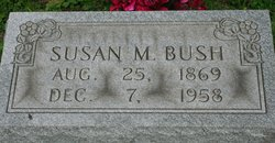Susan Margaret <I>Thacker</I> Bush
