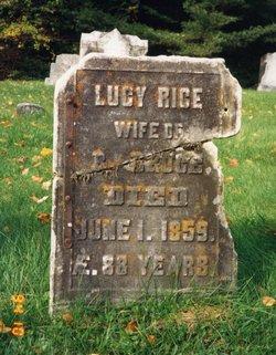 Lucy <I>Rice</I> Bruce