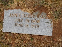 Annie <I>Overton</I> Bell