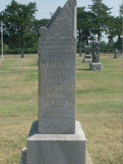 Mary Emily <I>Landon</I> Frier