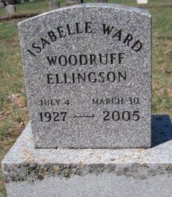 Isabelle <I>Woodruff</I> Ellingson