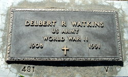 Delbert R Watkins