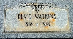 Elsie Watkins