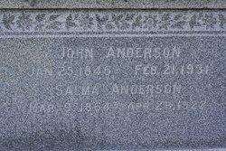 Salma Marie <I>Abrahamson</I> Anderson