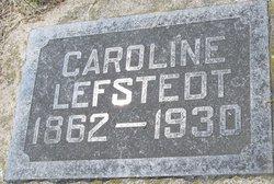 Caroline <I>Erickson</I> Lefstedt