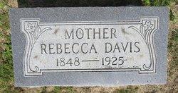 Rebecca <I>Hopkins</I> Davis