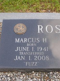"""Marcus Hugh """"Fuzz"""" Rosser"""