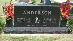 Phyllis Ann <I>McCue</I> Anderson