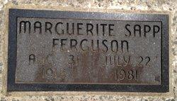 Marguerite <I>Sapp</I> Ferguson