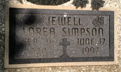 Jewell Lorea <I>Young</I> Simpson