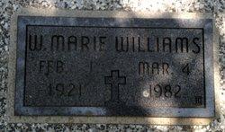 W. Marie Williams