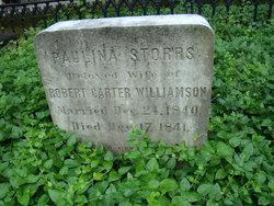 Paulina <I>Storrs</I> Williamson
