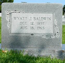 """Wyatt Jacob """"Jake"""" Baldwin"""