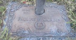 "Pauline ""Mattie"" <I>Black</I> Gorden"