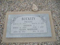 """Ellen Madeline """"Madeline"""" Buckley"""