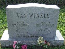 Mary Phillips Van Winkle