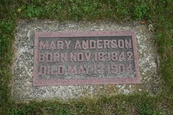 Mary <I>Sathe</I> Anderson