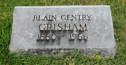 Blain <I>Gentry</I> Grisham