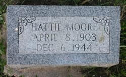 Hattie Mae <I>Crout</I> Moore
