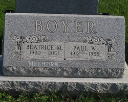 Beatrice May <I>Sterner</I> Boyer-Melhorn