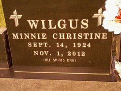 Minnie Christine <I>Roggow</I> Wilgus
