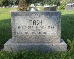 Thomas D Nash