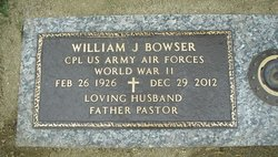 William Joseph Bowser