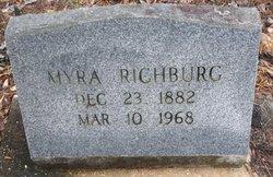 Myra Franklin <I>Daniels</I> Richburg
