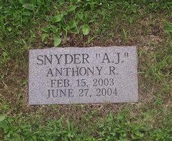 "Anthony R. ""A.J."" Snyder"