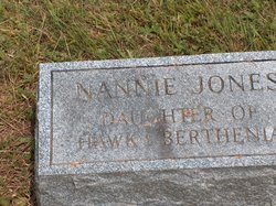 Nannie Jones