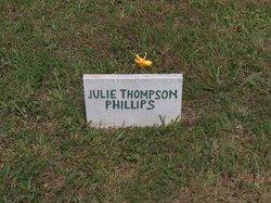 Julie <I>Thompson</I> Phillips