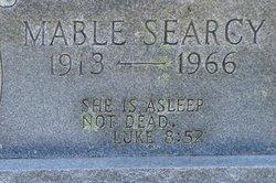 Mabel <I>Searcy</I> Clark