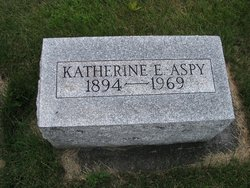 Catherine E <I>Cook</I> Aspy
