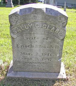 Sally C <I>Clark</I> Blaisdell